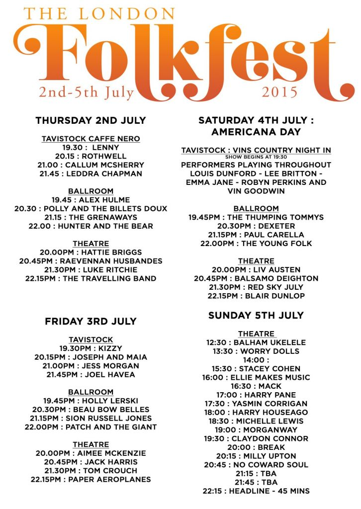 London Folk Fest