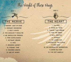 the-weight-of-these-wings-track-list