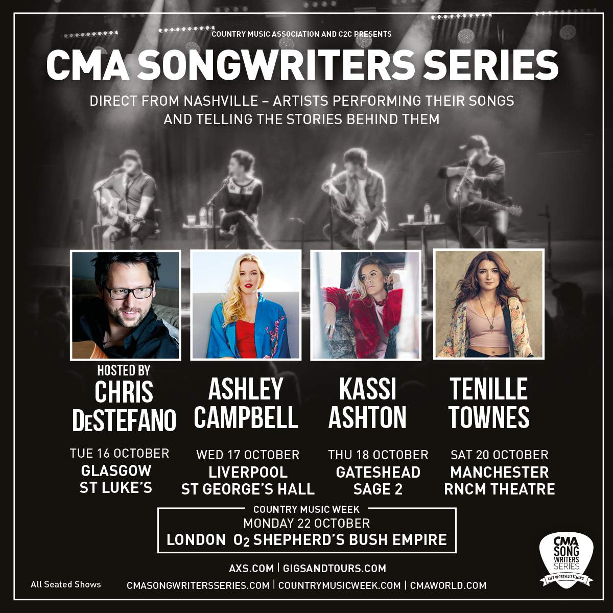 Cma Songwriters Series In Conversation With Chris De Stefano