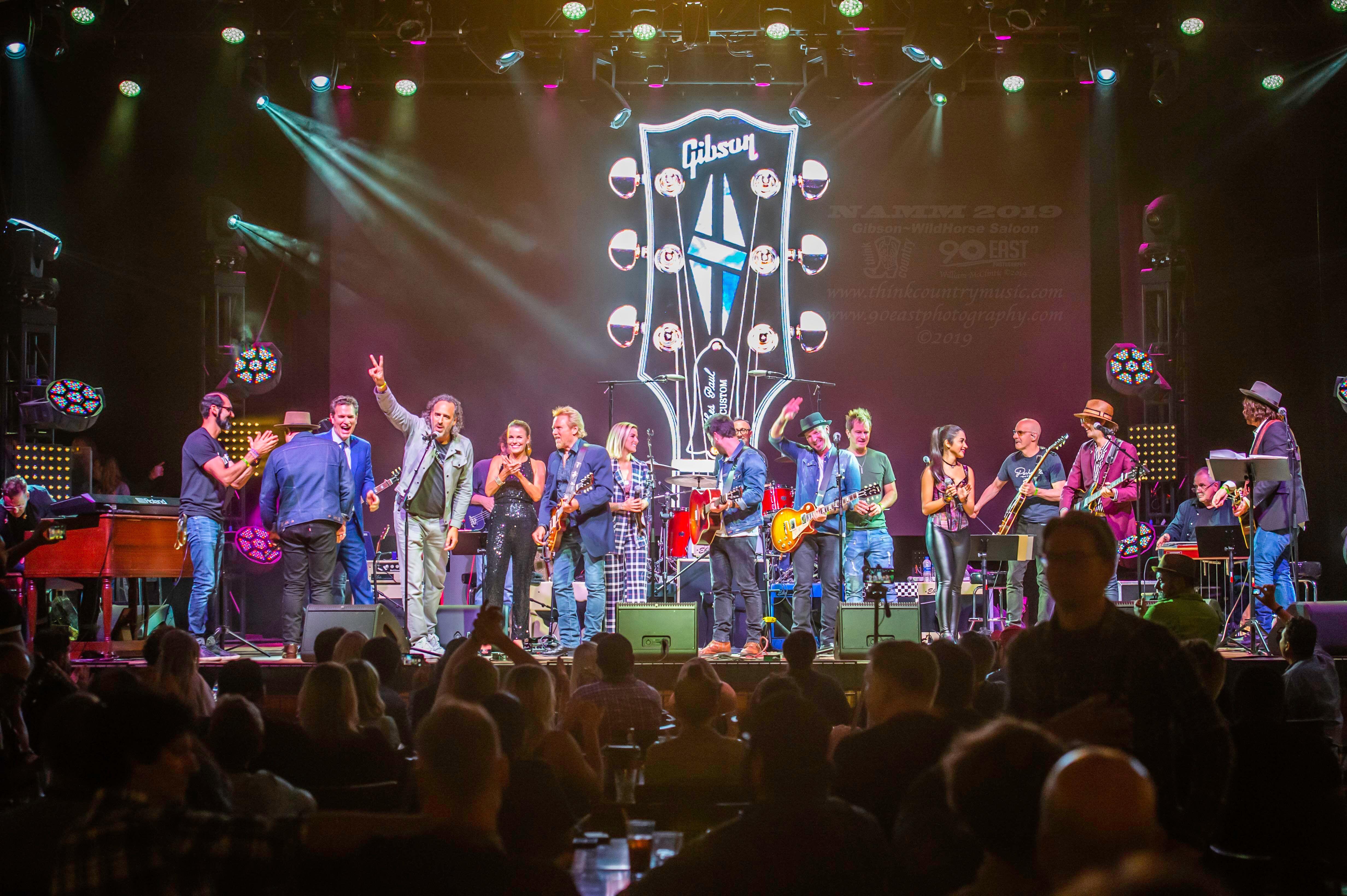 Gibson Summer NAMM Jam 2019 Rocks the Wildhorse  